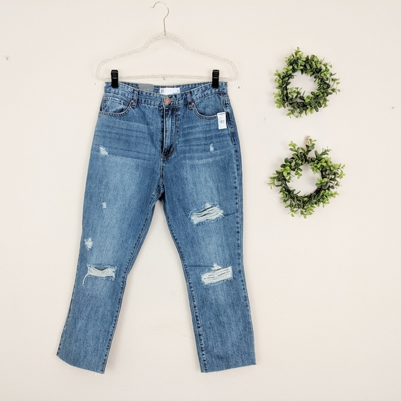 RSQ Denim - NWT RSQ Jeans New Distressed Mom Jeans 13